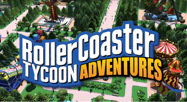 Atari® Brings RollerCoaster Tycoon® Adventures to Nintendo Switch