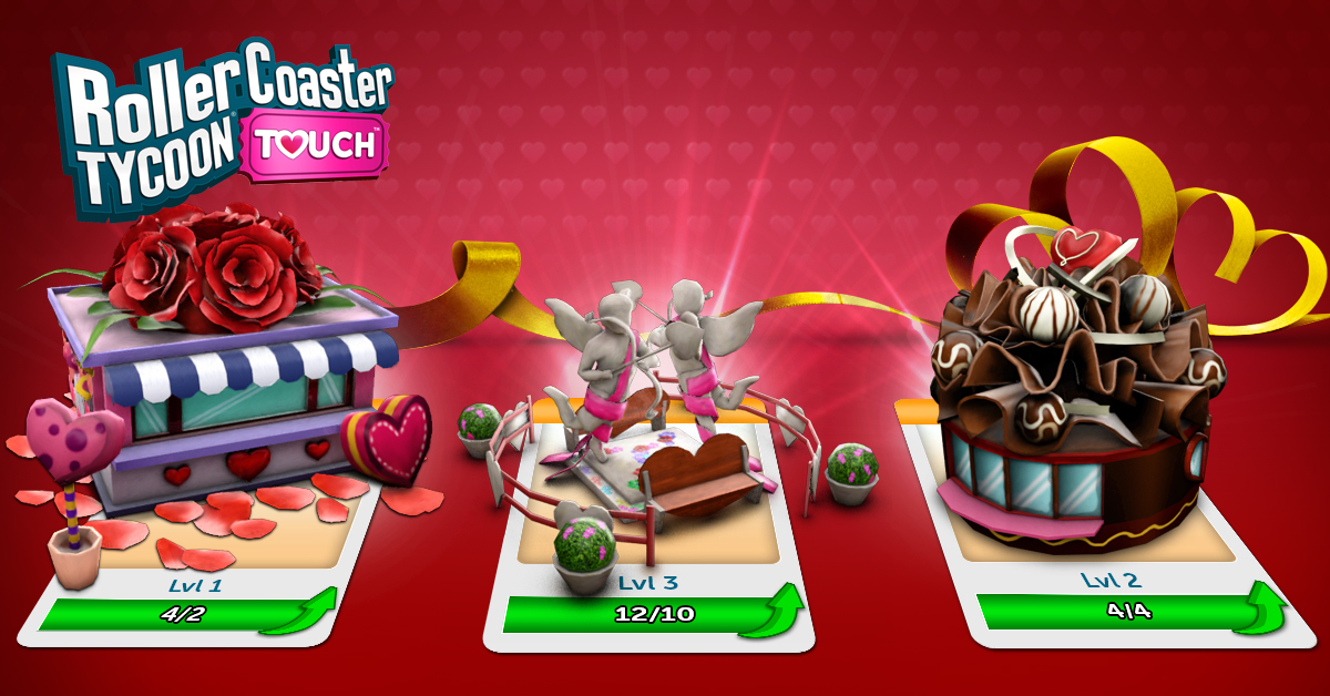 """Love is in the Air — Atari Ushers in """"RollerCoaster Tycoon"""