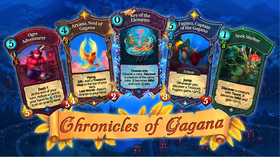 "Faeria""s latest expansion ""Chronicles of Gagana"" now"